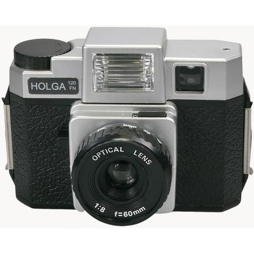 Holga 120FN Medium Format Camera (Silver & Black) 295120