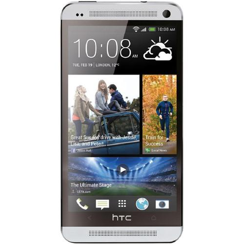 HTC One M7 32GB AT&T Branded Smartphone ONE-32GB-SILVER
