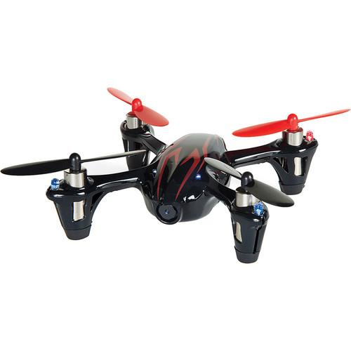 HUBSAN X4 H107C Quadcopter with Transmitter (Black/Red) H107CBR