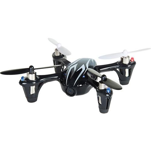 HUBSAN X4 H107C Quadcopter with Transmitter (Black/White)