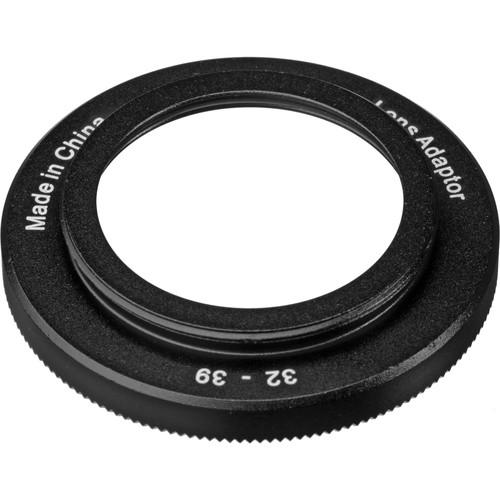 I-Torch M32-M39 Step-Up Ring for Underwater Lenses or AD-P3932