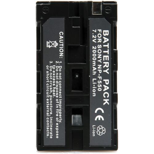 ikan NP-F550 Battery for iLED144, iLED312(-v2), ID508, IBS-550