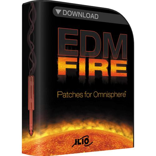 ILIO EDM-Fire - Patches for Omnisphere (Download) IL-EDMF