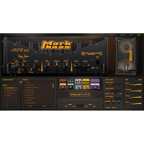 ILIO  Mark Studio 2 Bass Amp Simulator OLDL-MS2