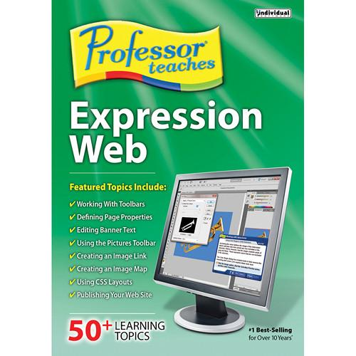 Individual Software Professor Teaches Expression Web PTEXPWEB