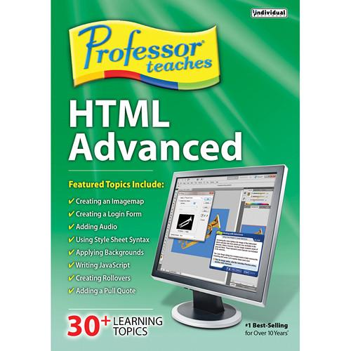 Individual Software Professor Teaches HTML Advanced PTHTMLA