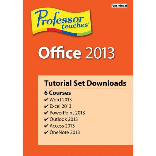 Individual Software Professor Teaches Office 2013 PDB-O13