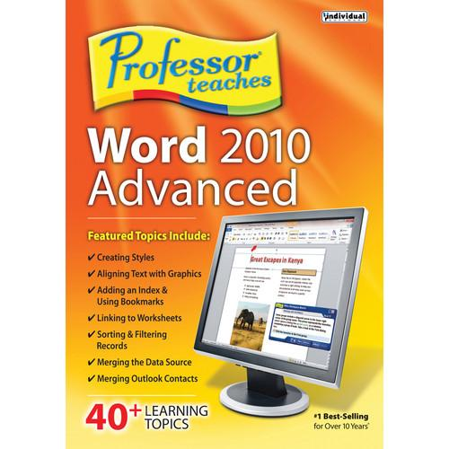 Individual Software Professor Teaches Word 2010 PTWORD2010A