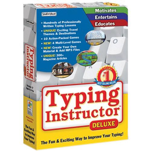 Individual Software Typing Instructor Deluxe 17.3 TYPINSTDEL17