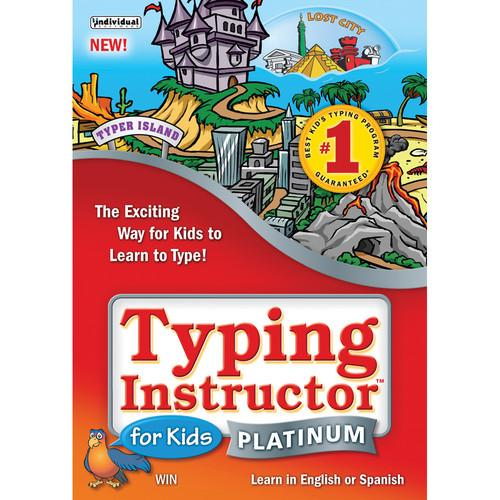 Individual Software Typing Instructor for Kids Platinum PMMTK5V1