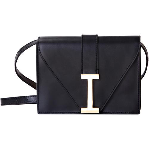 ISAAC MIZRAHI  The I Clutch (Black) IM42853-BK