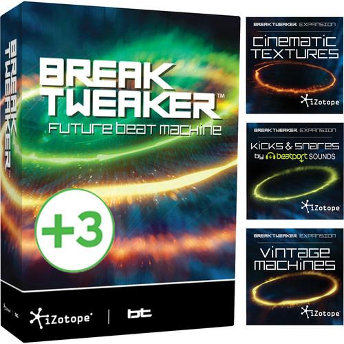 iZotope BreakTweaker Expanded with 3 Sound BREAKTWEAKER EXPANDED