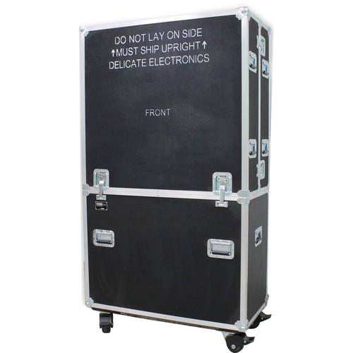 JELCO RotoLift Dual Flat Screen Mobile Lift Case ELU-70R