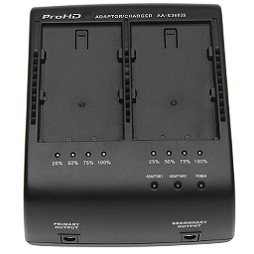 JVC Dual Battery Charger/AC Adaptor with LED Charge AA-S3602I