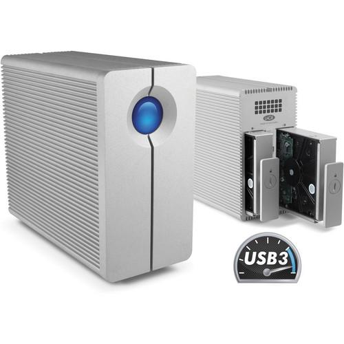 LaCie  8TB 2Big Quadra USB 3.0 2-Bay RAID 9000317