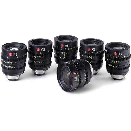 Leica Summicron-C T2.0 Lens Set (6 Lenses) LEI-SUMC-SET-CS