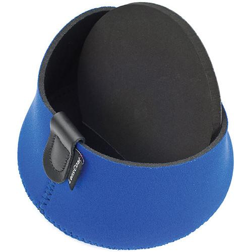LensCoat Hoodie Lens Hood Cover (Medium, Blue) LCHMBL