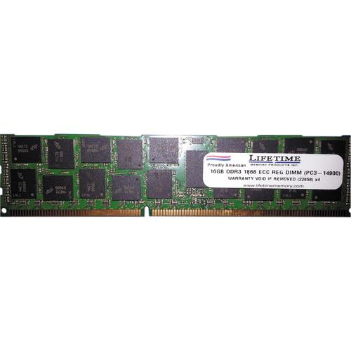 Lifetime Memory 16GB (1 x 16) PC3-14900 DDR3 1866 MHz 10313-16ER