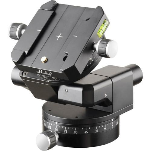 Linhof 3D Leveling Head II with Dovetail Track 003666