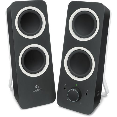 Logitech Multimedia Speakers Z200 (Midnight Black) 980-000800