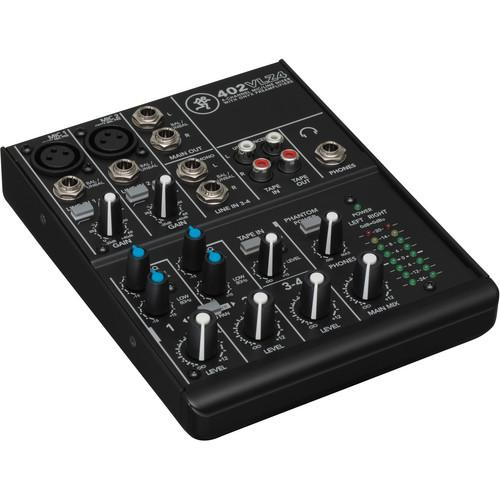 Mackie 402VLZ4 4-Channel Mixer and Mixer Bag Kit