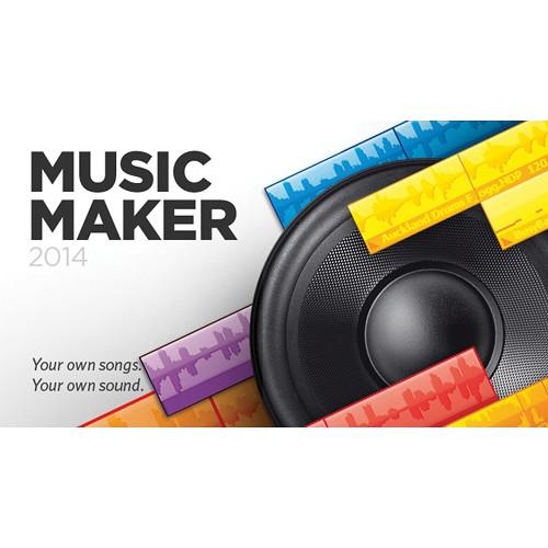 MAGIX Entertainment Music Maker 2014 - Music RESMID014719