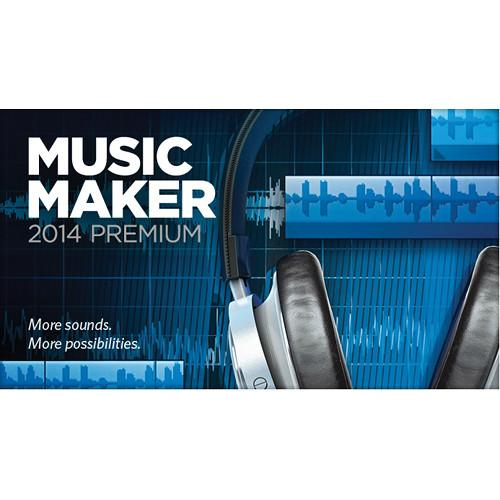 MAGIX Entertainment Music Maker 2014 Premium - RESMID014469