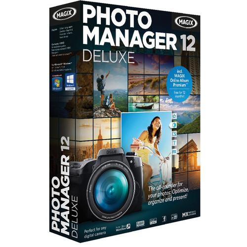 MAGIX Entertainment Photo Manager 12 Deluxe RESMID013755