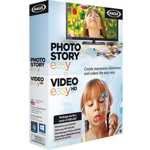 MAGIX Entertainment Photostory easy & Video easy MID015056