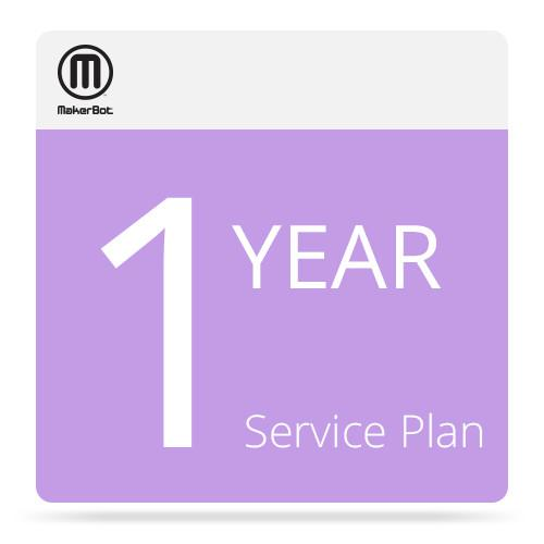 MakerBot 1-Year MakerCare Service Plan for MakerBot MP05597