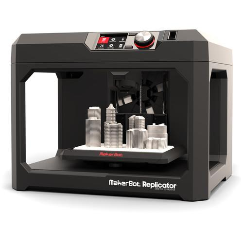 MakerBot Fifth Generation Replicator Desktop 3D Printer MP05825