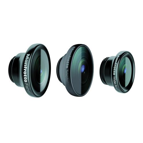 Manfrotto KLYP  Fisheye, Portrait 1.5x, and Wide Angle MOKLYP5S