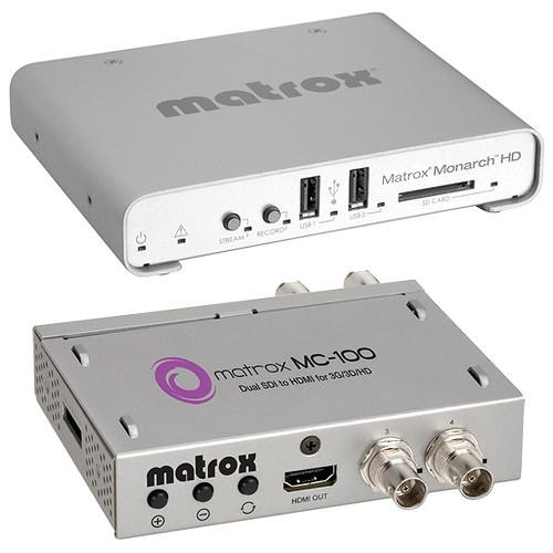 Matrox Monarch HD & MC-100 Mini SDI to HDMI MHD/MC100/KIT