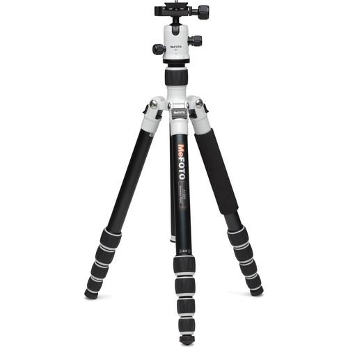 MeFOTO RoadTrip Aluminum Travel Tripod Kit (White) A1350Q1W