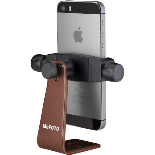 MeFOTO SideKick360 Smartphone Tripod Adapter (Chocolate) MPH100E