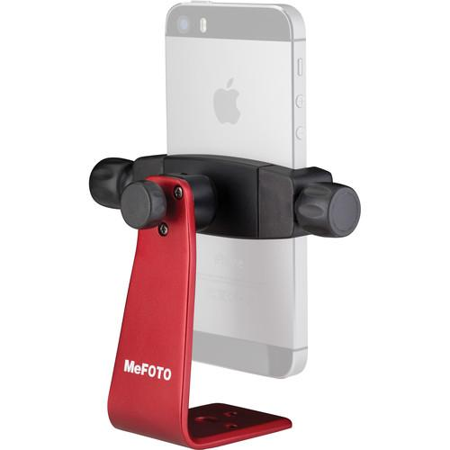 MeFOTO SideKick360 Smartphone Tripod Adapter (Red) MPH100R