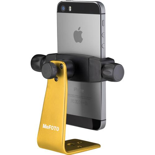 MeFOTO SideKick360 Smartphone Tripod Adapter (Yellow) MPH100Y