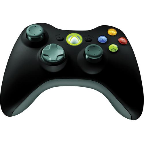 Microsoft Xbox 360 Wireless Controller (Black) NSF-00023