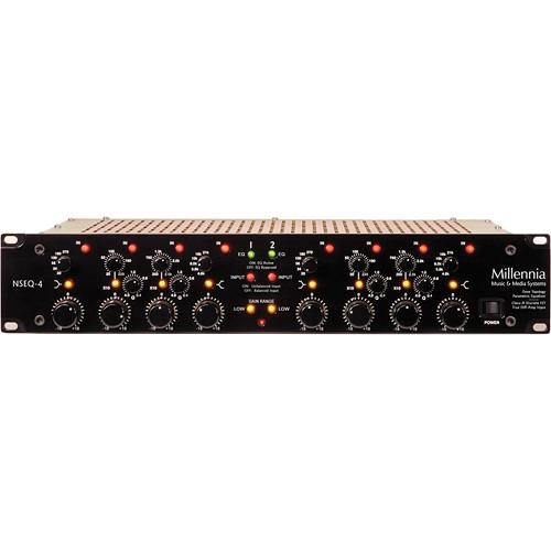 Millennia NSEQ-4 2-Channel Class A Discrete Solid State NSEQ-4