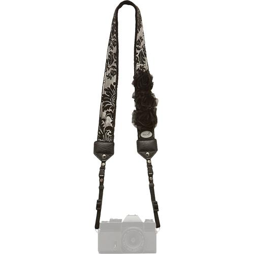 Mod Premium Camera Strap (Silver Victorian with Flowers) MOD5217