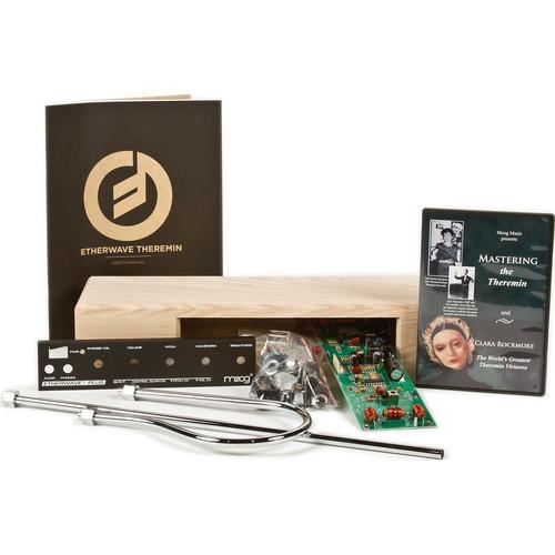 Moog Etherwave Plus Theremin Kit with 110V Power EW-PKIT-0002