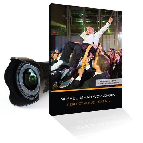 MOSHE ZUSMAN PHOTOGRAPHY DVD: Perfect Venue Lighting PVL