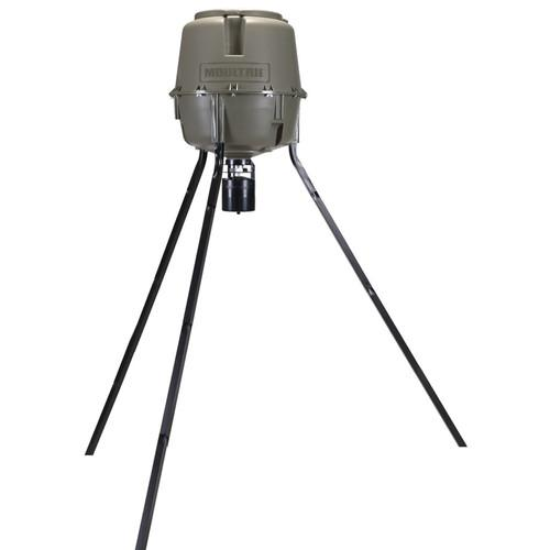 Moultrie 30-Gallon Pro Lock Tripod Deer Feeder MFG-12607