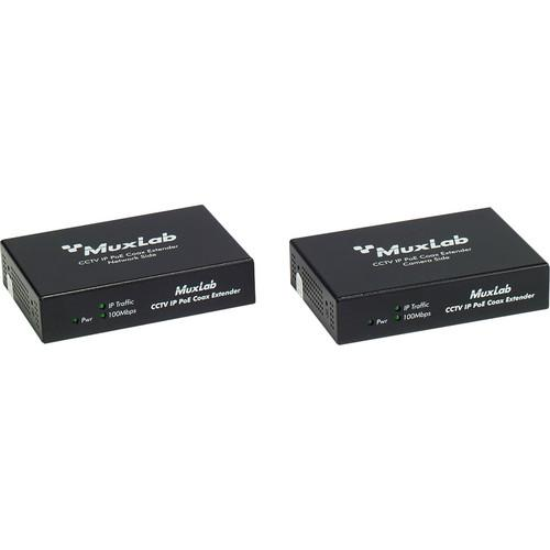MuxLab LongReach CCTV IP PoE Extender Kit for 15.4W Camera