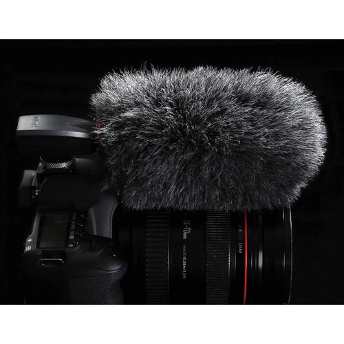 MyMyk Windshield for SmartMyk Microphone (Gray) WINDSHIELD