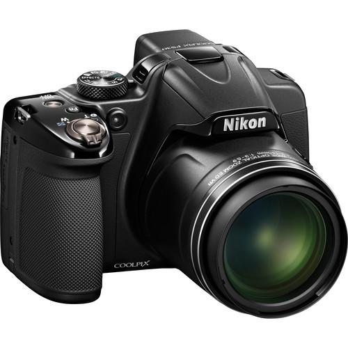 Nikon COOLPIX P530 Digital Camera Basic Kit (Black)
