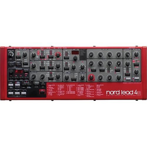 Nord Lead 4 Virtual Analog Table Top Rack Mountable NL4-RACK