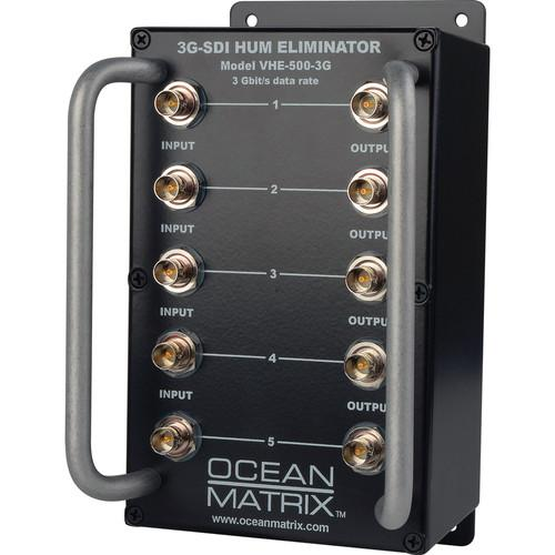 Ocean Matrix 3G-SDI Video Hum Eliminator (5-Channel) VHE-500-3G