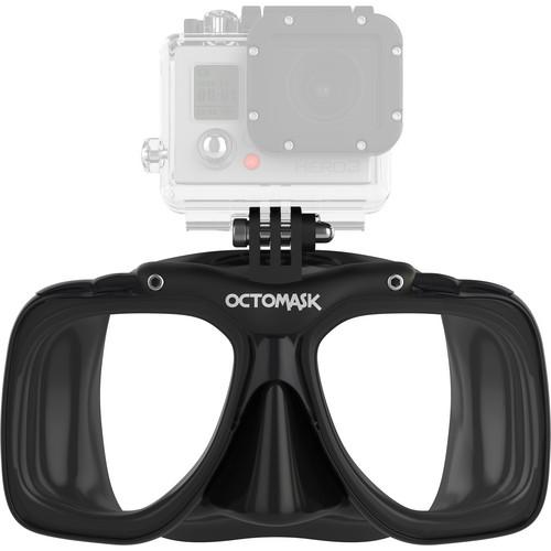 OCTOMASK  Scuba Mask for GoPro Camera (Black) 101