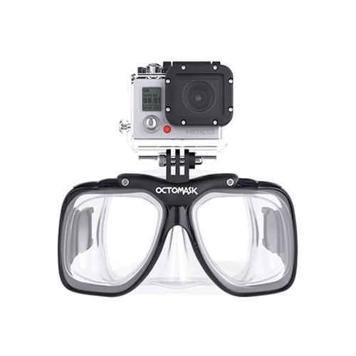 OCTOMASK  Scuba Mask for GoPro Camera (Clear) 102